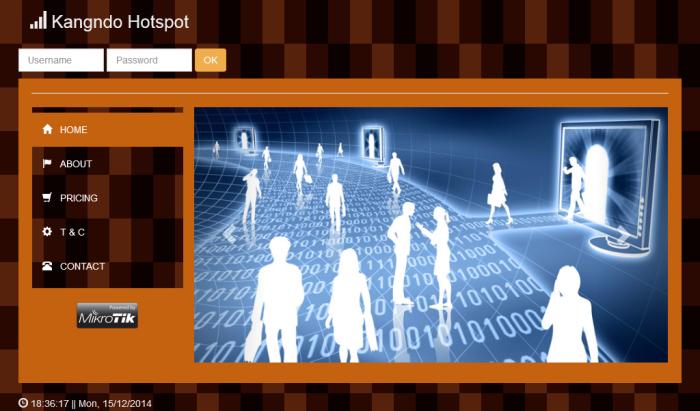 mikrotik login page